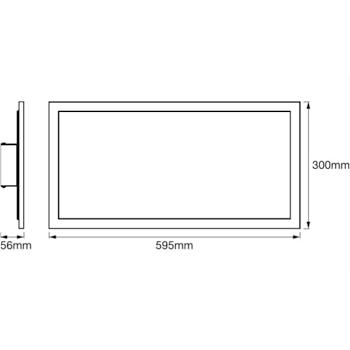 PANNELLO SMART+ WIFI PLANON PLUS TW 60X30 codice prod: LUM525368WF product photo Foto3 L2