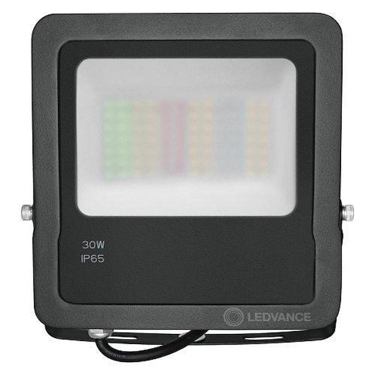 PROIETTORE SMART+ WIFI FLOOD 30W RGBW GRIGIO SCURO codice prod: LUM474642WF product photo