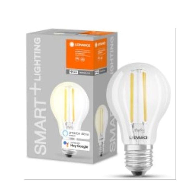 SMART+ WIFI CLASSIC A 60 DIM WW E27 FIL CL codice prod: SMT485358WF product photo