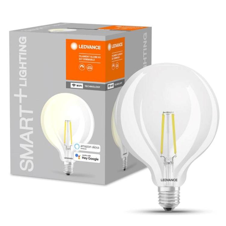 SMART+ WIFI CLASSIC GLOBE125 60 DIM E27 FIL CL codice prod: SMT208568BT product photo