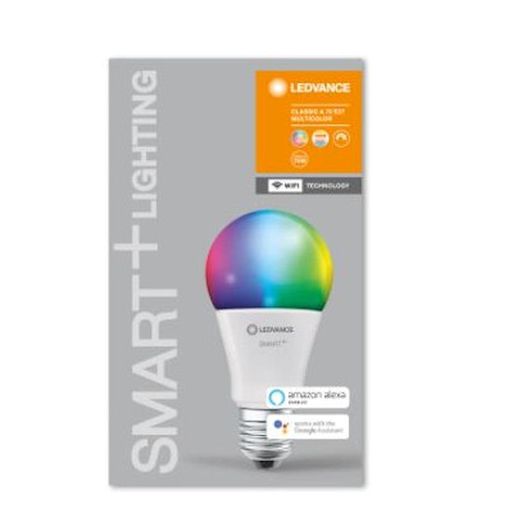 SMART+ WIFI CLASSIC A 75 RGBW E27 HS codice prod: SMT485457WF product photo