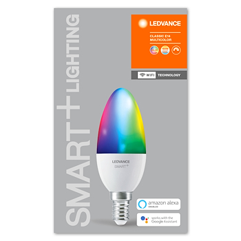 SMART+ WIFI CLASSIC B 40 RGBW E14 HS codice prod: SMT485570WF product photo Foto4 L2