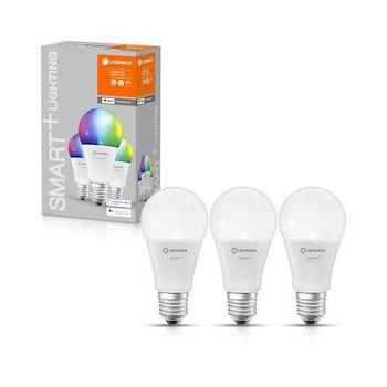SET 3 LAMPADINE SMART+ WIFI CLASSIC A 60 RGBW E27 HS BOX 3 codice prod: SMT485754WF3 product photo Foto3 L2