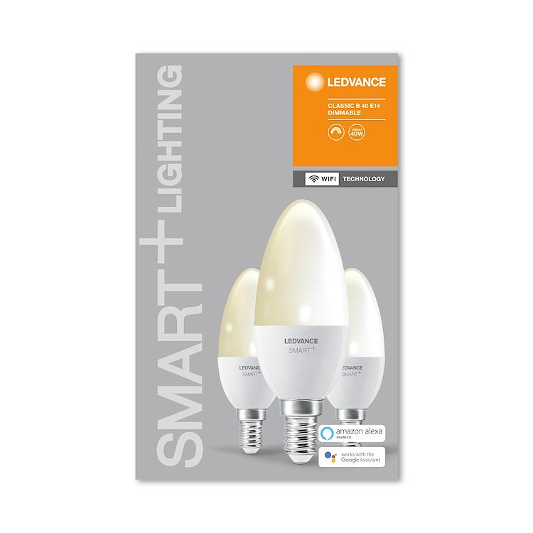 SMART+ WIFI CLASSIC B 40 DIM WW E14 HS B OX3 codice prod: SMT485891WF3 product photo