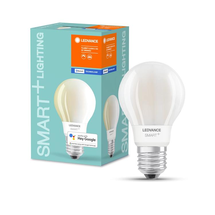 SMART+ BT CLASSIC A 100 DIM WW E27 FIL G L FR codice prod: SMT486089BT product photo