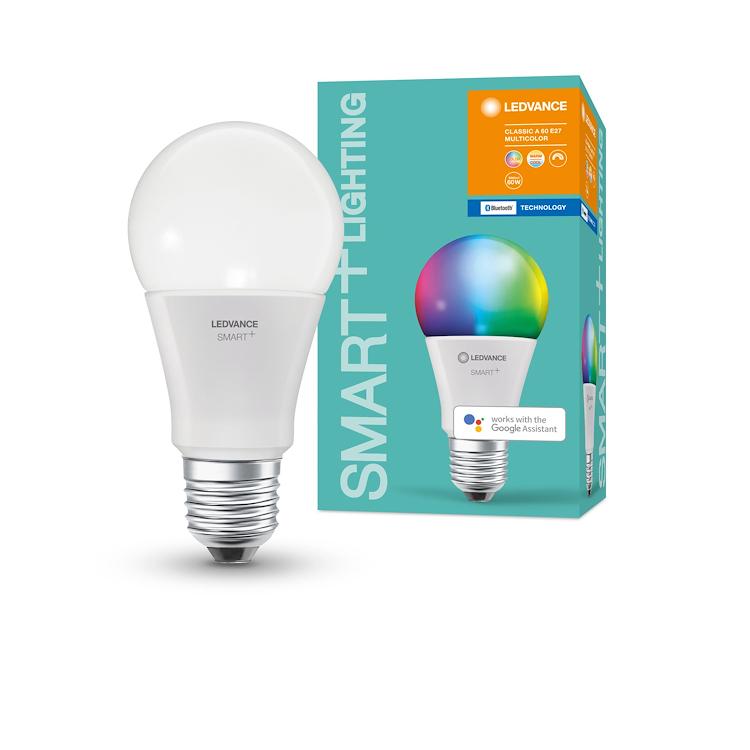 SMART+ BT CLASSIC A 60 RGBW E27 HS codice prod: SMT208469BT product photo