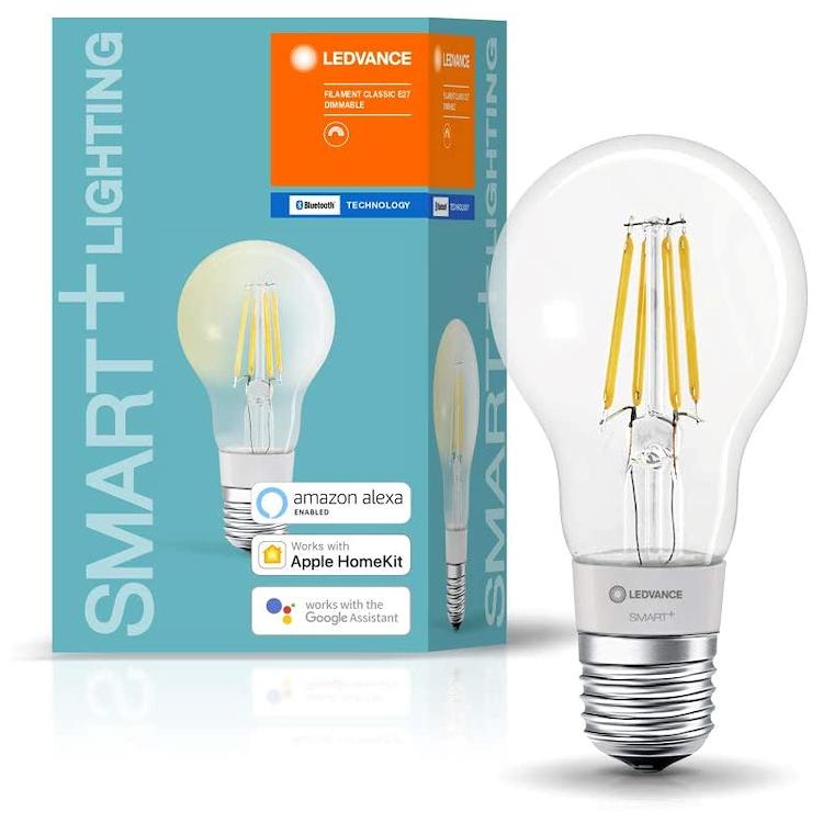 SMART+ BT CLASSIC A 60 DIM WW E27 FIL CL codice prod: SMT208551BT product photo