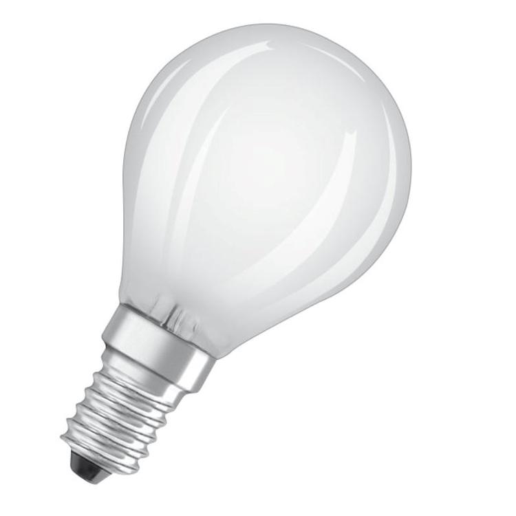 LAMPADINA LED A FILAMENTO FORMA A SFERA SMERIGLIATA ATTACCO E14 codice prod: LED115538BLXBOX1 product photo