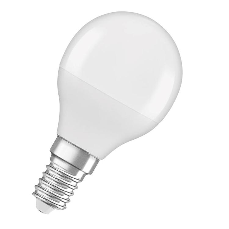 LAMPADINA LED FORMA A SFERA SMERIGLIATA ATTACCO E14 codice prod: LED128309BLXBOX1 product photo