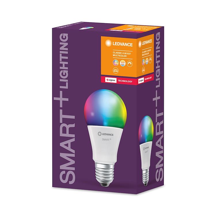SMART+ ZB CLASSIC A 60 RGBW E27 HS codice prod: SMT208391ZB product photo