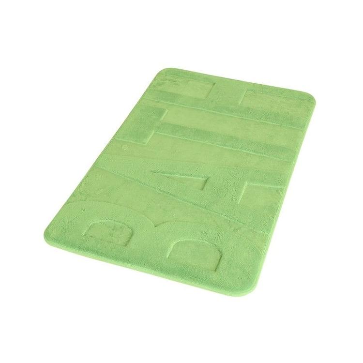 """TAPPETO MEMORY FOAM 45X75 CON SCRITTA """"BATH"""" VERDE codice prod: TAHO4575VE product photo"""