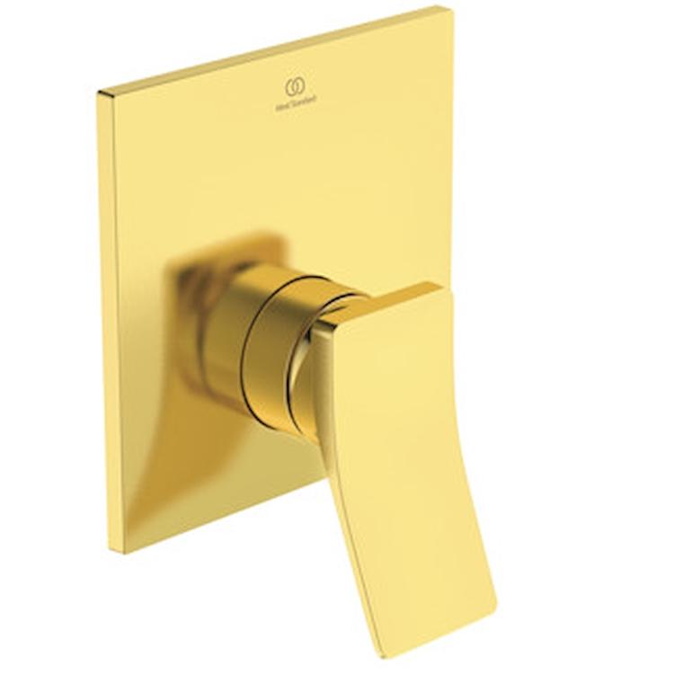 CONCA MISCELATORE DOCCIA PARTE ESTERNA BRUSHED GOLD codice prod: A7376A2 product photo