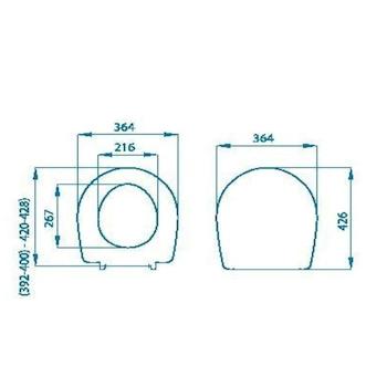 POZZI GINORI COLIBRI' 2 SEDILE CHAMPAGNE codice prod: IDS42PC product photo Foto1 L2