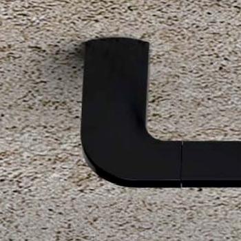 TRENTA PORTASALVIETTE L36,6 NERO OPACO codice prod: B30090NM product photo Foto2 L2